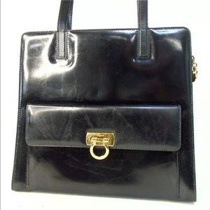 Authentic Salvatore Ferragamo Shoulder Bag Vintage